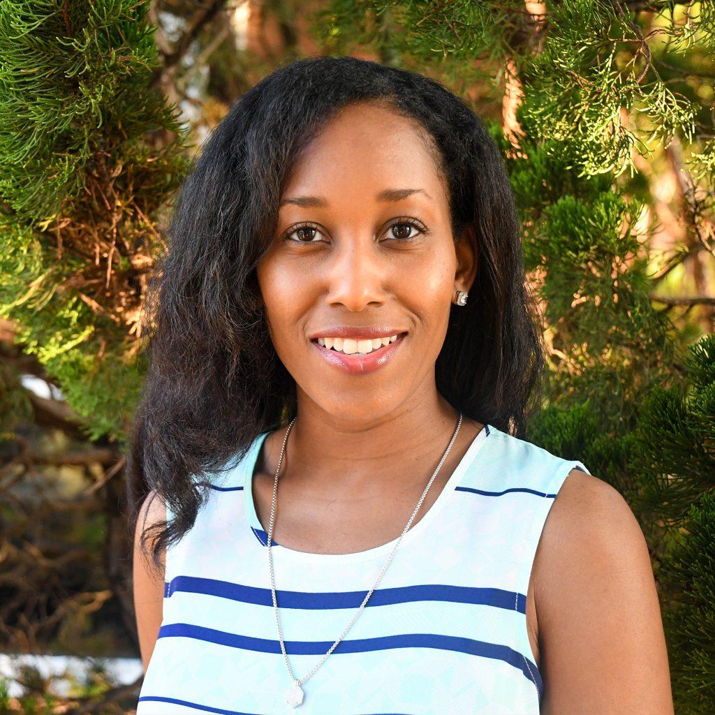 Head shot of Ebony Welch, annual giving coordinator.