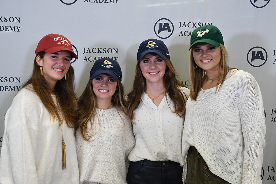 Four Lady Raiders Make Collegiate Athletic Commitments