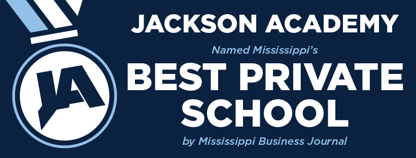 """Jackson Academy Named """"Best Private School"""" by Mississippi Business Journal"""