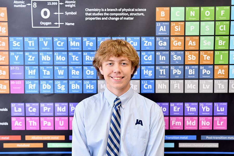 Miles- Johnson Named National Merit Semifinalist